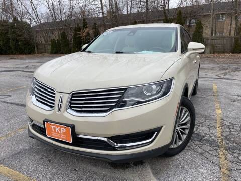 2016 Lincoln MKX for sale at TKP Auto Sales in Eastlake OH