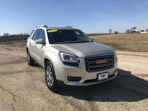 2014 GMC Acadia for sale at Alan Browne Chevy in Genoa IL