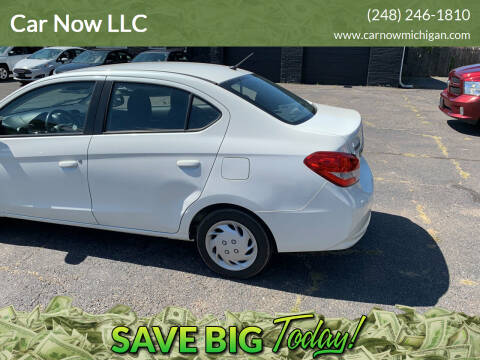 2017 Mitsubishi Mirage G4 for sale at Car Now LLC in Madison Heights MI