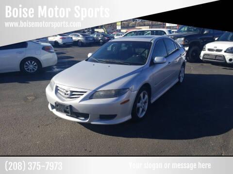 2004 Mazda MAZDA6 for sale at Boise Motor Sports in Boise ID