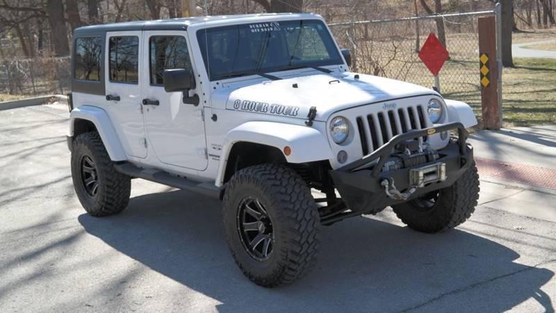 2016 Jeep Wrangler Unlimited for sale at Cars-KC LLC in Overland Park KS