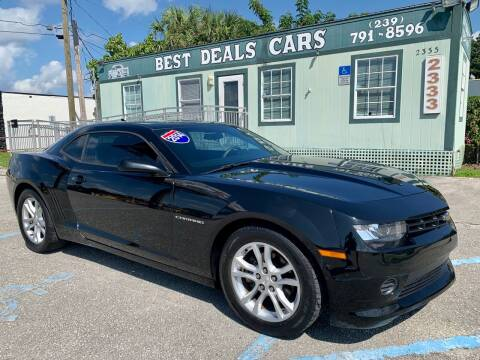 2014 Chevrolet Camaro for sale at Best Deals Cars Inc in Fort Myers FL