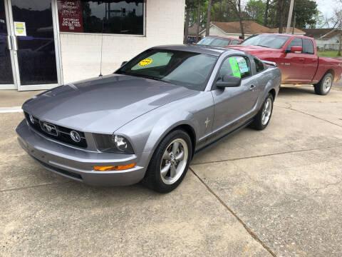 2006 Ford Mustang for sale at BRAMLETT MOTORS in Hope AR