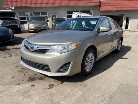 2013 Toyota Camry for sale at ELITE MOTOR CARS OF MIAMI in Miami FL