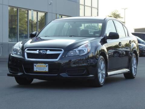 2013 Subaru Legacy for sale at Loudoun Motor Cars in Chantilly VA