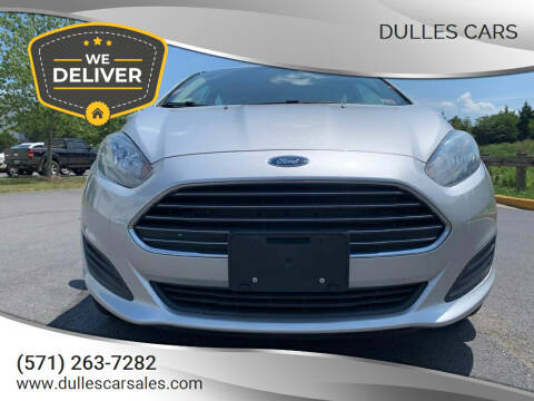 2016 Ford Fiesta for sale at Dulles Cars in Sterling VA