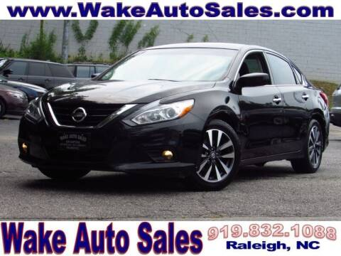 2017 Nissan Altima for sale at Wake Auto Sales Inc in Raleigh NC