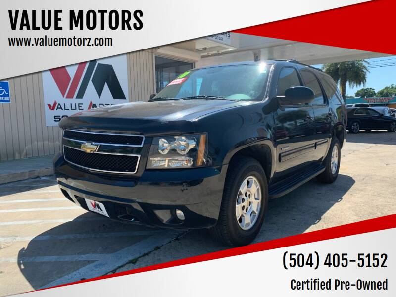 2010 Chevrolet Tahoe for sale at VALUE MOTORS in Kenner LA