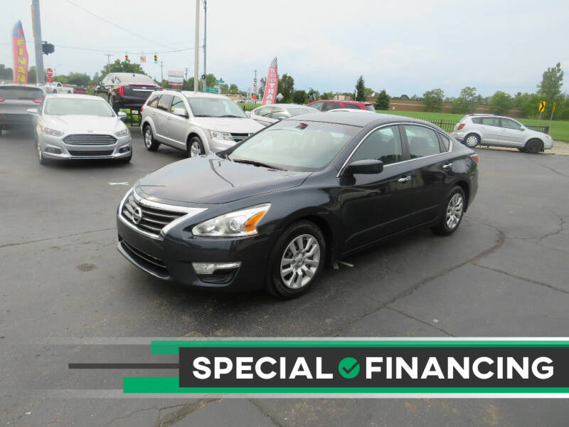 2014 Nissan Altima for sale at A to Z Auto Financing in Waterford MI