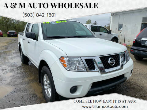 2018 Nissan Frontier for sale at A & M Auto Wholesale in Tillamook OR