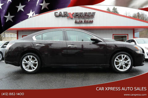 2012 Nissan Maxima for sale at Car Xpress Auto Sales in Pittsburgh PA