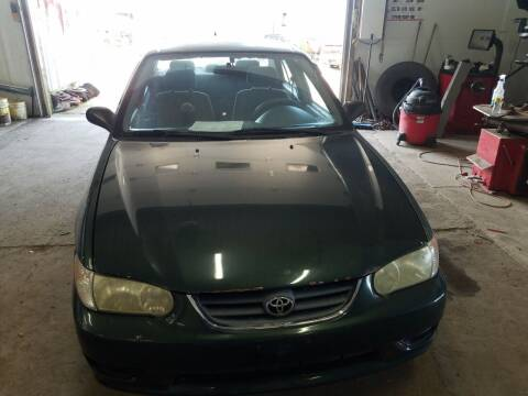 2001 Toyota Corolla for sale at Craig Auto Sales in Omro WI