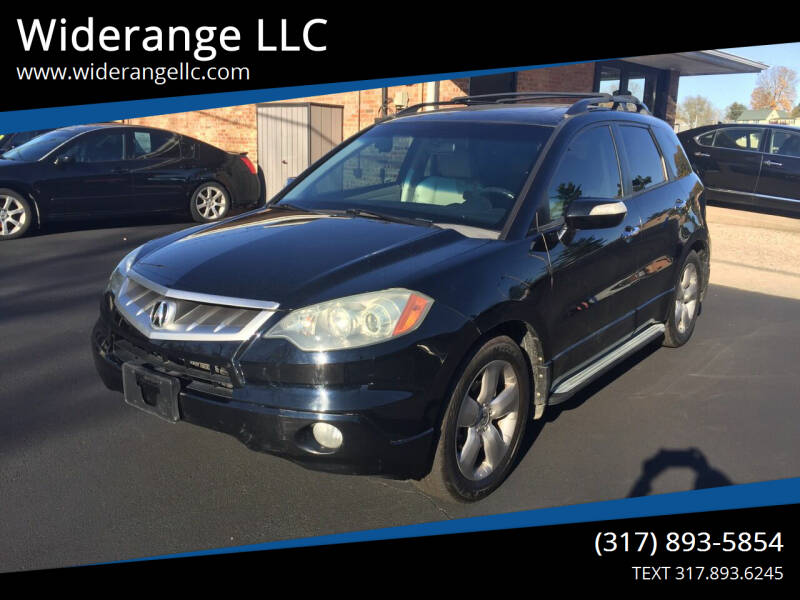 2007 Acura RDX for sale at Widerange LLC in Greenwood IN