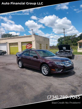 2012 Ford Fusion for sale at Auto Financial Group LLC in Flat Rock MI