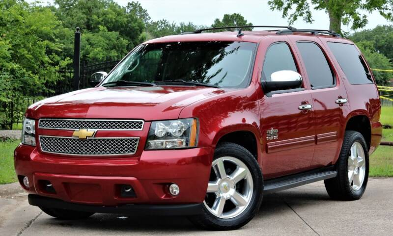 2013 Chevrolet Tahoe for sale at Texas Auto Corporation in Houston TX