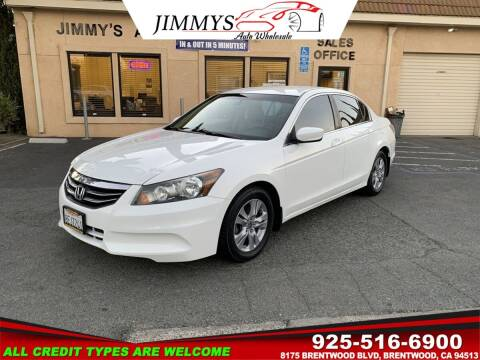 2011 Honda Accord for sale at JIMMY'S AUTO WHOLESALE in Brentwood CA