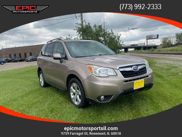 2014 Subaru Forester for sale in Rosemont, IL