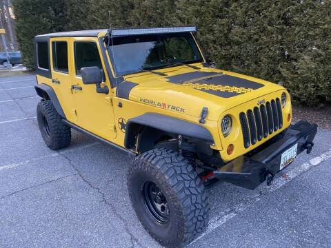 2009 Jeep Wrangler Unlimited for sale at Limitless Garage Inc. in Rockville MD