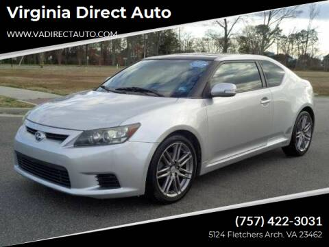 2012 Scion tC for sale at Virginia Direct Auto in Virginia Beach VA