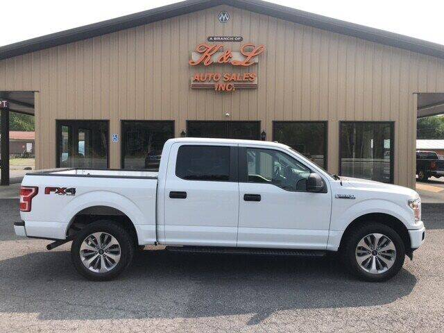 2018 Ford F-150 for sale at K & L AUTO SALES, INC in Mill Hall PA