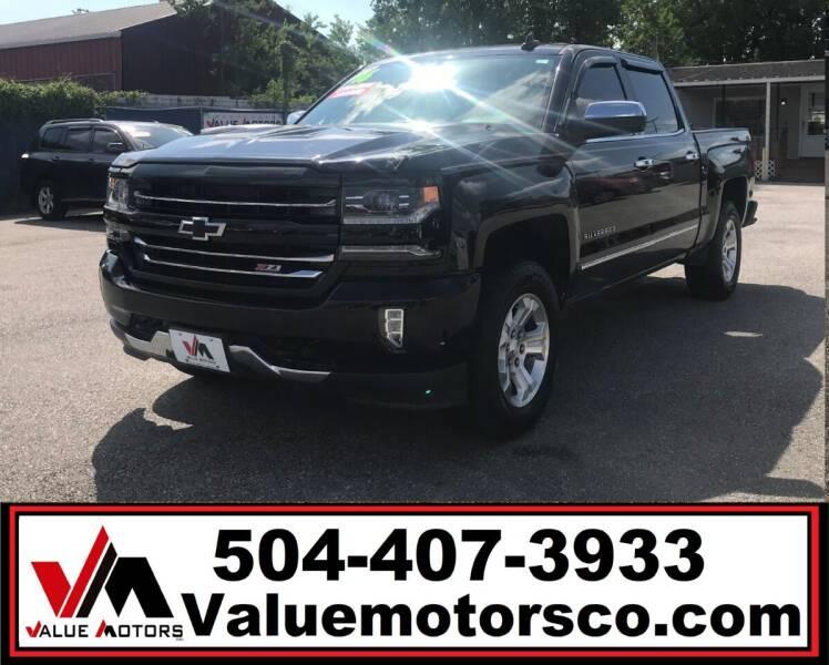 2016 Chevrolet Silverado 1500 for sale at Value Motors Company in Marrero LA