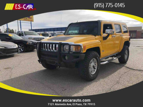 2006 HUMMER H3 for sale at Escar Auto in El Paso TX