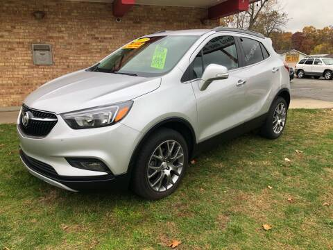 2017 Buick Encore for sale at Murdock Used Cars in Niles MI
