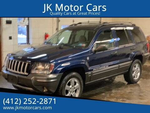2004 Jeep Grand Cherokee for sale at JK Motor Cars in Pittsburgh PA