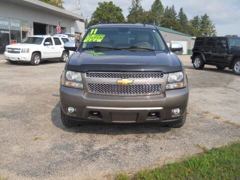 2011 Chevrolet Suburban for sale at Shaw Motor Sales in Kalkaska MI