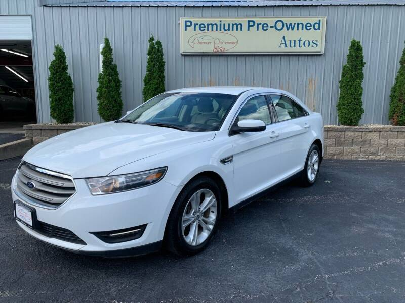 2015 Ford Taurus for sale at PREMIUM PRE-OWNED AUTOS in East Peoria IL