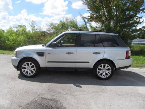 2007 Land Rover Range Rover Sport for sale at Orlando Auto Motors INC in Orlando FL
