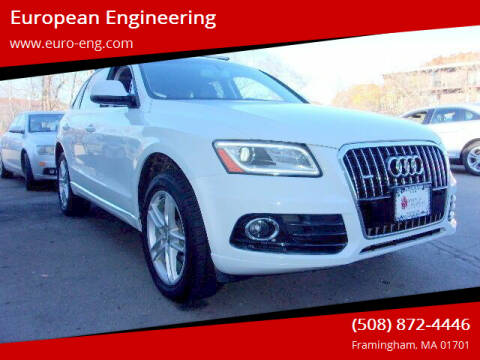 2017 Audi Q5 for sale at European Engineering in Framingham MA