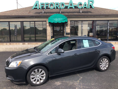 2015 Buick Verano for sale at Afford-A-Car in Moraine OH