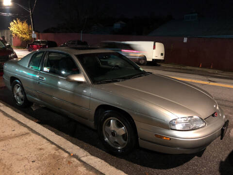1999 Chevrolet Monte Carlo for sale at Deleon Mich Auto Sales in Yonkers NY
