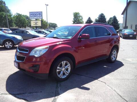 2014 Chevrolet Equinox for sale at Budget Motors in Sioux City IA