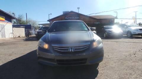 2011 Honda Accord for sale at Auto Click in Tucson AZ