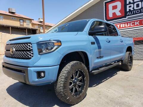 2019 Toyota Tundra for sale at Red Rock Auto Sales in Saint George UT