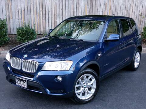 2014 BMW X3 for sale at Mich's Foreign Cars in Hickory NC