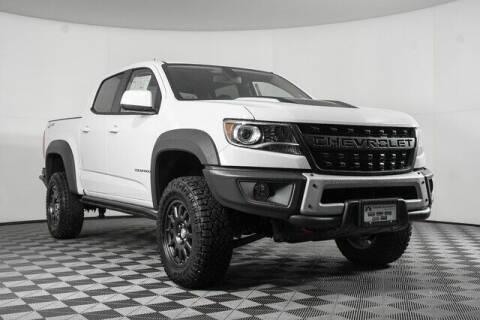 2021 Chevrolet Colorado for sale at Washington Auto Credit in Puyallup WA