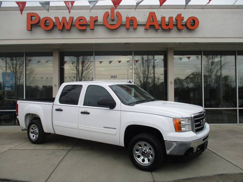 2013 GMC Sierra 1500 for sale at Power On Auto LLC in Monroe NC