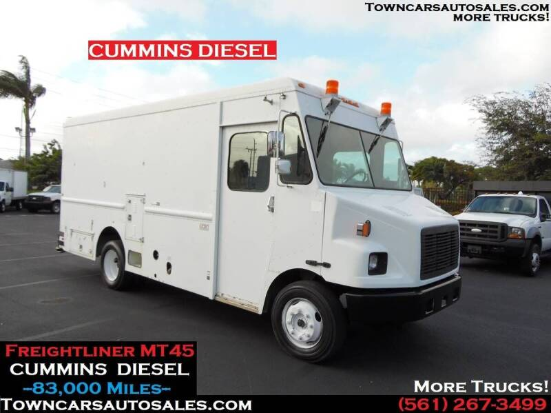 2001 Freightliner MT45 Chassis for sale at Town Cars Auto Sales in West Palm Beach FL
