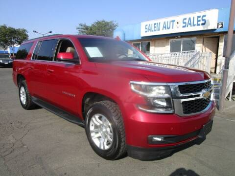 2015 Chevrolet Suburban for sale at Salem Auto Sales in Sacramento CA