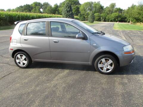 2007 Chevrolet Aveo for sale at Crossroads Used Cars Inc. in Tremont IL