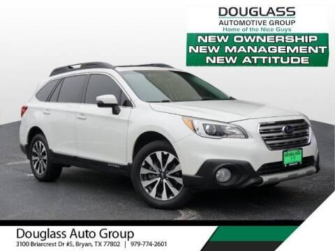 2017 Subaru Outback for sale at Douglass Automotive Group in Central Texas TX