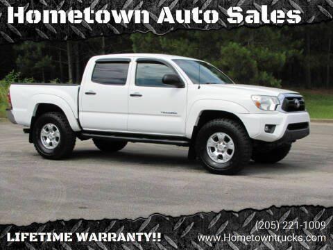 2013 Toyota Tacoma for sale at Hometown Auto Sales - Trucks in Jasper AL