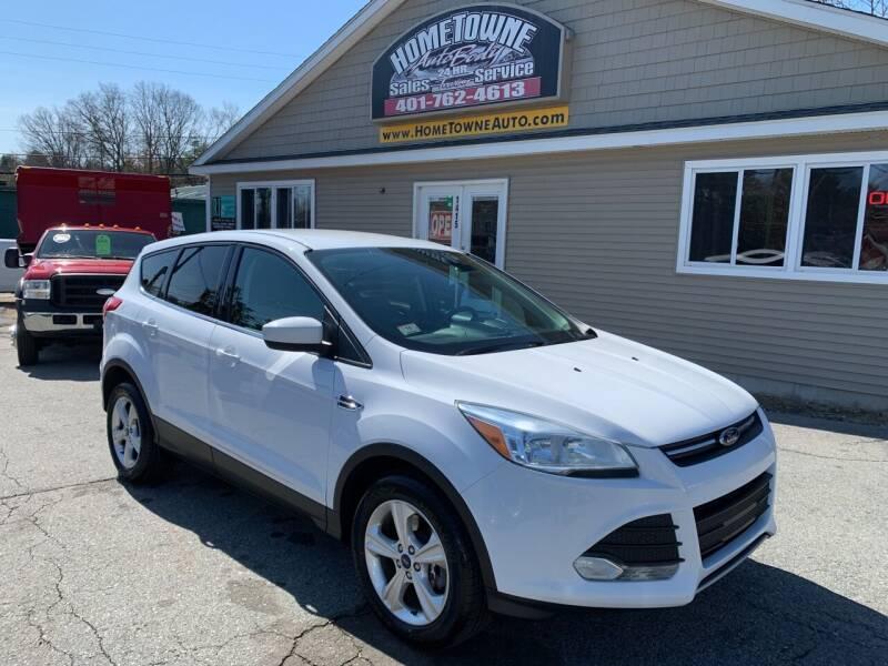2014 Ford Escape for sale at Home Towne Auto Sales in North Smithfield RI
