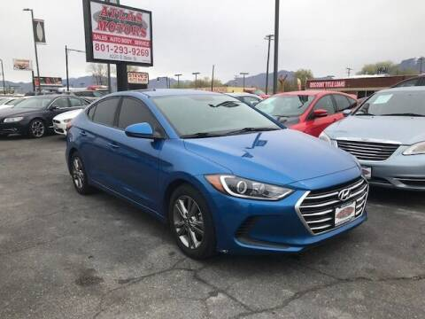 2017 Hyundai Elantra for sale at ATLAS MOTORS INC in Salt Lake City UT