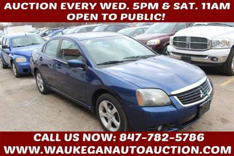 2009 Mitsubishi Galant for sale at Waukegan Auto Auction in Waukegan IL