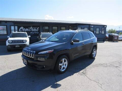 2016 Jeep Cherokee for sale at Central Auto in South Salt Lake UT