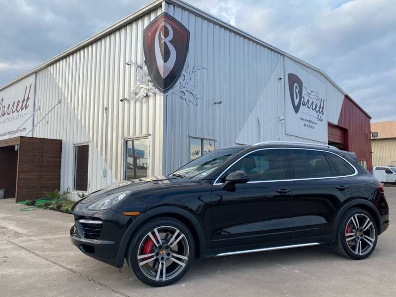 2014 Porsche Cayenne for sale at Barrett Auto Gallery in San Juan TX